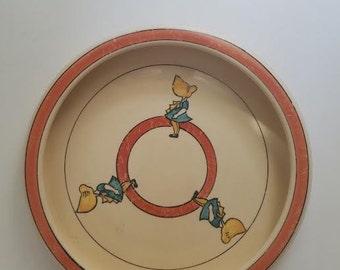 Vintage Roseville Sunbonnet Sue Bowl