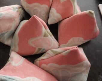 7 Sewing pattern weights, 75grm each, 7.5cm x 8.5 cm, Handmade