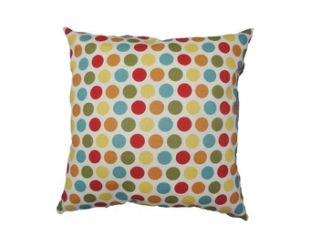 Pillow Cover-Home Accessories-Decor-Polka Dots-With Zipper-by ALPHONSINA
