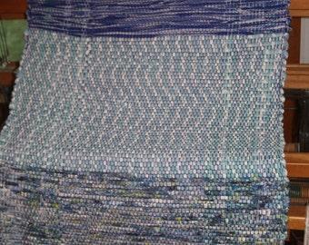 Loomed Rag Rug for Kitchen, Bath or Bedroom