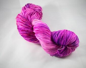 """Chic Sock Yarn- """"Girl Power"""" Handpainted Superwash Merino - 463 Yards"""