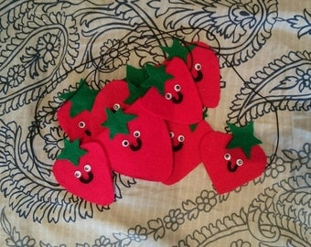 Strawberry sleeping mask