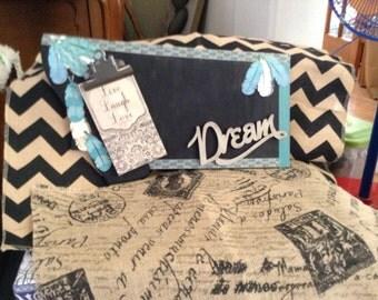 Dream write on/Organization Plaque