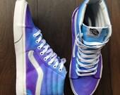 Vans Sk8 HiHand Painted VansPainted VansPainted Vans Sk8Womens Vans ShoeWomens Vans SneakersCanvas Vans PumpsCustom Canvas Vans