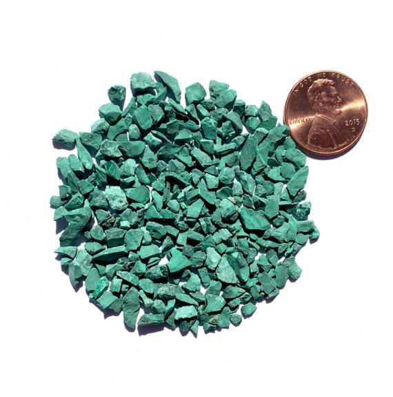 Crushed Gemstone For Inlays : Crushed malachite stone inlay coarse ounce