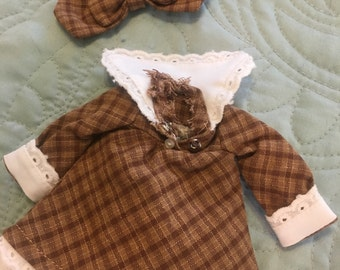 """Precious Blythe outfit with matching bow which is a Kim Lasher 9"""" Winnifred a Lollipop bjd dress"""