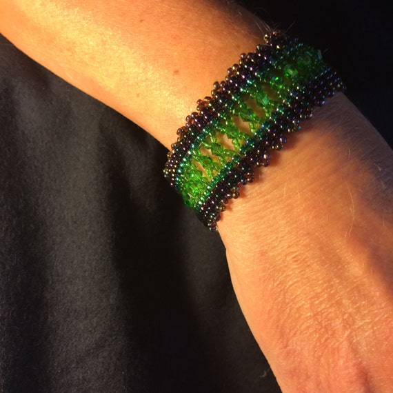 Number 35 Hand woven bracelet