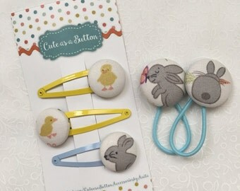 Bunny or Chick Hair Accessories
