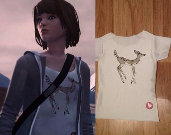 Max Caulfield t-shirt, cosplay,  Dontnod Entertainment, game, Lis, Life is strange, deer, 4 episode