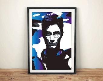 Harry Potter Face art (for Harry Potter fans)