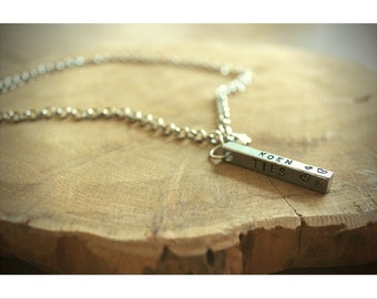 Necklace with name/text Pendant