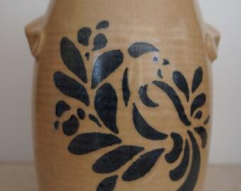 Pfaltzgraff Folk Art Utensil Crock or Vase