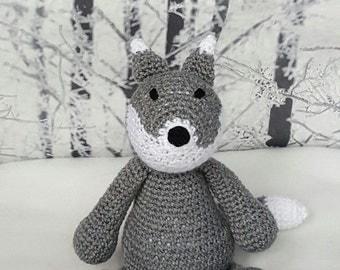 Crochet Mr Wolf