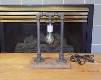 Steam Punk Industrial Lamp