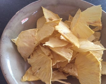 Natural Dried Pineapple Chips Nothing Added