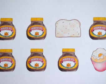 The Perfect Breakfast - Marmite, Butter and Toast