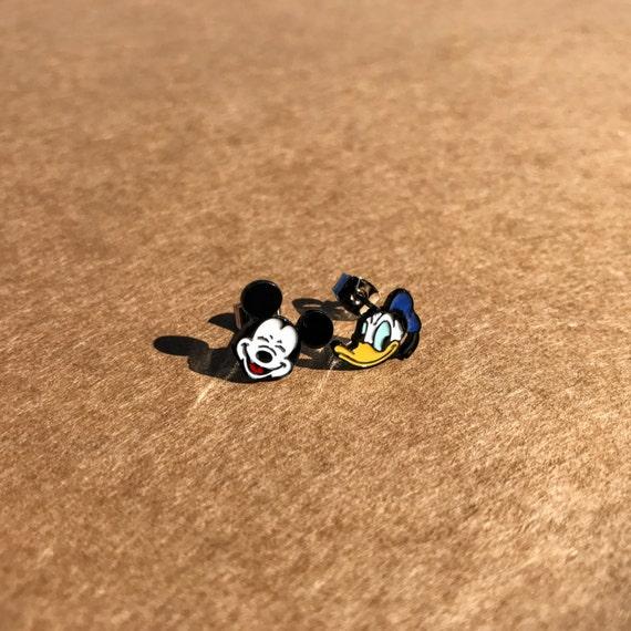 Mickey Mouse Earrings, Donald Duck Earrings, Mickey Mouse Studs, Donald Duck Studs, Disney Earrings, Disney Character Earrings