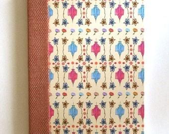 Lantern and Flower Notebook