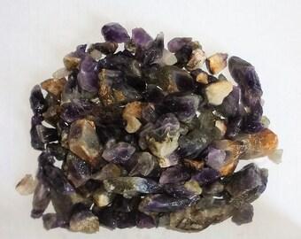 Amethyst shard – small raw stones (Splitter) - 1 kg - (5-30 mm)