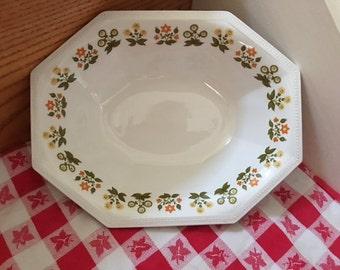 Vintage Heritage Johnson Bros. Ironstone Posy Pattern Platter