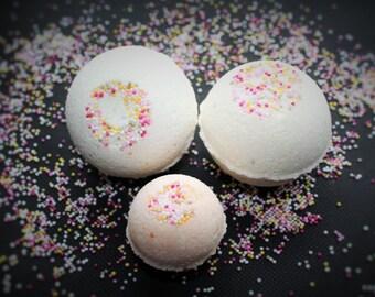 Fizzy bath bomb - Coconut and Vanilla