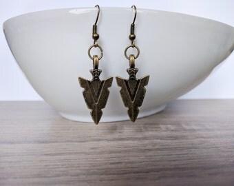 Earrings aztec
