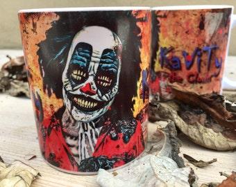 KaViTy The Clown TM Official HEAT CHANGE Mug