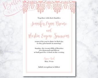 Gabriella Wedding Invitation Design