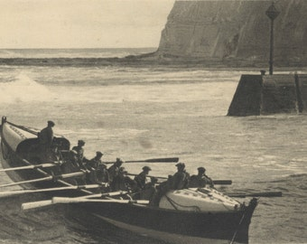 Staithes Lifeboat 1930