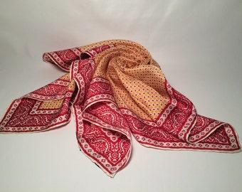 Vintage Dumont silk scarf