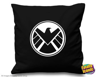 Agents of Shield - Pillow Cushion Cover - Avengers Inspired Comic Book Hero's