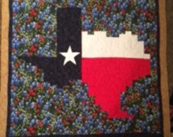 Texas Strip Happy Flag Quilt Kit