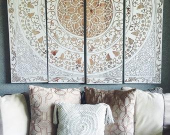 Bohemian Crochet Pillows