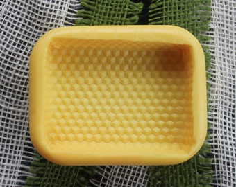 Two (2) Beeswax Design Soap Molds (Identical)