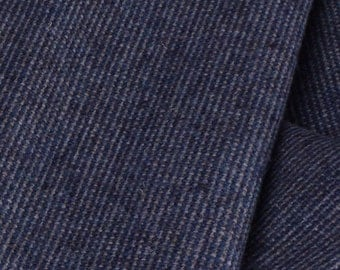 "Blue Wool Suiting Fabric - 56"" Wide - 1 Yard (PV-929)"