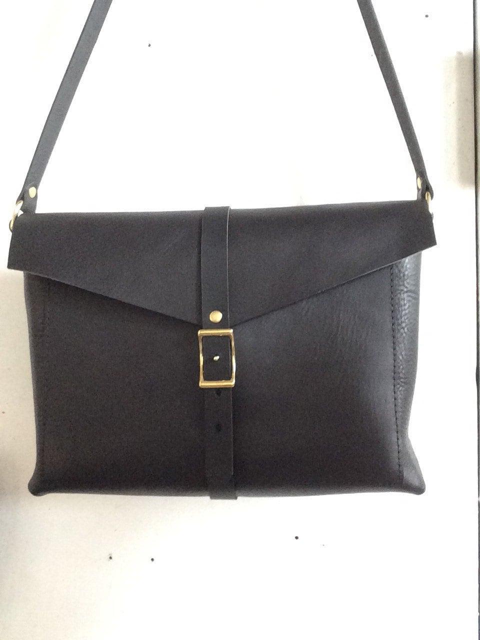 All black Brooklyn Bag