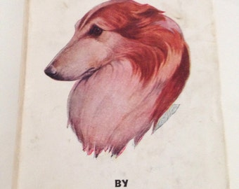 Lad : A Dog 1948 Book Albert Payson Terhune Vintage Rare Hardcover - Robert L. Dickey Illustrations - Dog Story Fiction Collie Book
