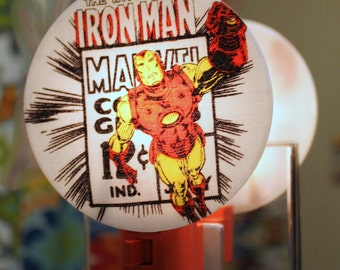 Iron Man Comic Nightlight