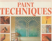 Softcover art book Paint Techniques How to Transform your home with Decorative Painting