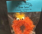 Brain Sucker Headband (narrow) Orange