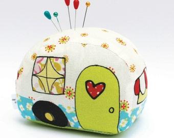 Happy Camper Pin Cushion - Needlecraft it