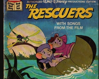 The Rescuers With Songs from the film - 1977 - Vintage Book