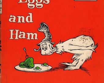 Green Eggs and Ham - Dr. Seuss - 1960 - Vintage Kids Book