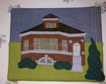 Chicago Bungalow-Orange Brick