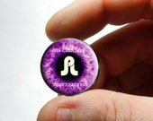 Glass Eyes - PL Pretty Lights Puple Eyeball Flat Cabochons for Jewelry - Pair or Single - You Choose Size