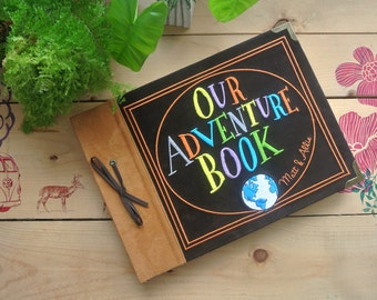 Mini size of Our Adventure Book (A4 horizontal)