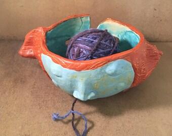 Yarn Bowl - Redhead