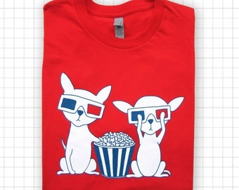 Chihuahuas In 3D T-shirt