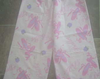 Girls Pajama Pants Flannel Lounging Pants Winter Pajamas 7 - 8 Years