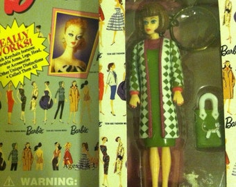 Vintage Barbie Poodle Parade Keychain